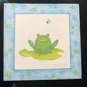 """My Little Froggy"" decor"